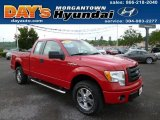 2010 Vermillion Red Ford F150 STX SuperCab 4x4 #82269814