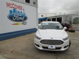 2013 White Platinum Metallic Tri-coat Ford Fusion SE 1.6 EcoBoost #82269276