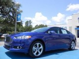 2013 Deep Impact Blue Metallic Ford Fusion SE 1.6 EcoBoost #82269359
