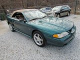 1998 Pacific Green Metallic Ford Mustang GT Convertible #82269889