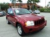 2006 Red Rock Crystal Pearl Jeep Grand Cherokee Laredo #82269354