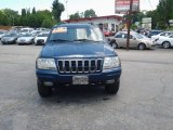 2002 Patriot Blue Pearlcoat Jeep Grand Cherokee Limited 4x4 #82269877