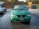 2001 Electric Green Metallic Ford Mustang V6 Coupe #82269874