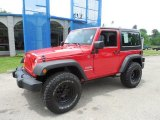 2012 Flame Red Jeep Wrangler Sport 4x4 #82269343