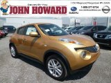 2013 Atomic Gold Nissan Juke SV AWD #82325626