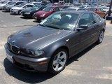 2005 Sparkling Graphite Metallic BMW 3 Series 325i Coupe #82325389