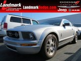 2006 Satin Silver Metallic Ford Mustang V6 Premium Coupe #82325468