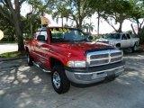 2001 Flame Red Dodge Ram 1500 ST Club Cab 4x4 #82325589