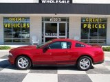 2011 Red Candy Metallic Ford Mustang V6 Coupe #82325588