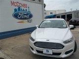 2013 White Platinum Metallic Tri-coat Ford Fusion SE 1.6 EcoBoost #82352649