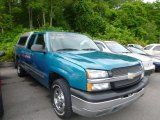 2003 Arrival Blue Metallic Chevrolet Silverado 1500 Extended Cab 4x4 #82352672