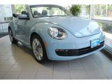 2013 Denim Blue Volkswagen Beetle 2.5L Convertible #82352695