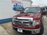 2013 Ruby Red Metallic Ford F150 XLT SuperCrew #82352641