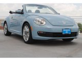 2013 Denim Blue Volkswagen Beetle 2.5L Convertible #82352692