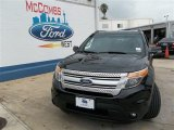 2013 Tuxedo Black Metallic Ford Explorer XLT #82352651