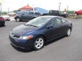 2007 Royal Blue Pearl Honda Civic EX Coupe #82360401