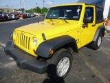2009 Jeep Wrangler Detonator Yellow