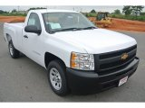2013 Summit White Chevrolet Silverado 1500 Work Truck Regular Cab #82360455