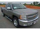 2013 Graystone Metallic Chevrolet Silverado 1500 LT Extended Cab #82360454