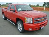 2013 Victory Red Chevrolet Silverado 1500 LT Extended Cab 4x4 #82360453
