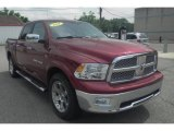 2011 Deep Cherry Red Crystal Pearl Dodge Ram 1500 Laramie Crew Cab 4x4 #82360549