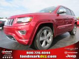 2014 Deep Cherry Red Crystal Pearl Jeep Grand Cherokee Overland #82360268