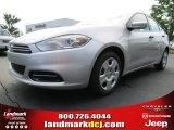 2013 Bright Silver Metallic Dodge Dart SE #82360248