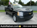 2012 Black Chevrolet Silverado 1500 Work Truck Extended Cab #82360380