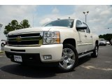 2011 White Diamond Tricoat Chevrolet Silverado 1500 LTZ Crew Cab #82360425