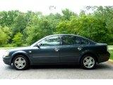 2000 Volkswagen Passat Blue Anthracite Metallic