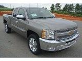 2013 Graystone Metallic Chevrolet Silverado 1500 LT Extended Cab #82360470