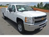 2013 Chevrolet Silverado 2500HD Work Truck Crew Cab Chassis Data, Info and Specs