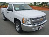 2013 Summit White Chevrolet Silverado 1500 LS Regular Cab #82360461