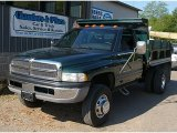 Forest Green Pearl Dodge Ram 3500 in 2000