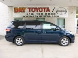 2012 South Pacific Pearl Toyota Sienna LE #82389526