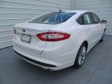 2013 White Platinum Metallic Tri-coat Ford Fusion SE 1.6 EcoBoost #82389738