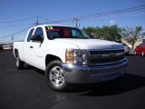 2012 Summit White Chevrolet Silverado 1500 LT Extended Cab #82389939