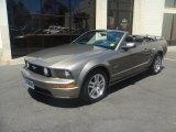2005 Mineral Grey Metallic Ford Mustang GT Premium Convertible #82390254