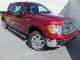 2013 Ruby Red Metallic Ford F150 XLT SuperCrew #82389727