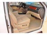 2008 Chevrolet Silverado 1500 LTZ Extended Cab 4x4 Light Cashmere/Ebony Accents Interior