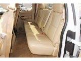 2008 Chevrolet Silverado 1500 LTZ Extended Cab 4x4 Rear Seat