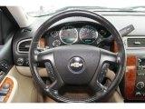 2008 Chevrolet Silverado 1500 LTZ Extended Cab 4x4 Steering Wheel