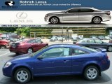 2007 Laser Blue Metallic Chevrolet Cobalt LS Coupe #82389705