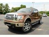 2011 Golden Bronze Metallic Ford F150 Lariat SuperCrew 4x4 #82390007