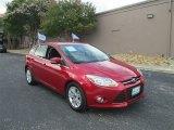 2012 Red Candy Metallic Ford Focus SEL 5-Door #82389588