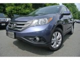 2012 Twilight Blue Metallic Honda CR-V EX-L #82390002