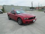 2011 Red Candy Metallic Ford Mustang V6 Premium Coupe #82389578