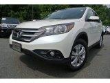 2012 White Diamond Pearl Honda CR-V EX-L #82389996