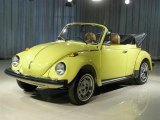 Yellow Volkswagen Beetle in 1979