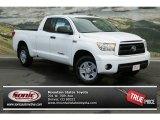 2013 Super White Toyota Tundra SR5 Double Cab 4x4 #82389446
